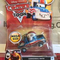 Disney Pixar Cars メガサイズTOONキャノンボールメーターMATTEL社 メガ