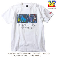 BILLVAN トイ・ストーリー コレクションTシャツ 034 ダッキー&バニー、ウッディ、ボーピープ ビルバン