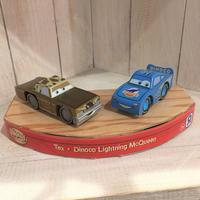 カーズ CARS WOOD COLLECTION ウッド・コレクション テックス・DINOCO ライトニングマックイーン