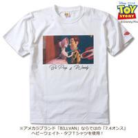 BILLVAN トイ・ストーリー コレクションTシャツ 024 ボー・ピープ&ウッディ ビルバン