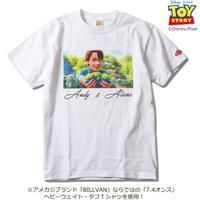 BILLVAN トイ・ストーリー コレクションTシャツ 030 アンディ&エイリアン  ビルバン