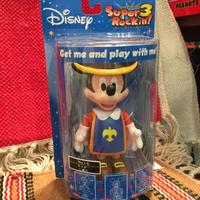 Super Rockin'3 Disney ミッキーマウス ボビングヘッド 三銃士