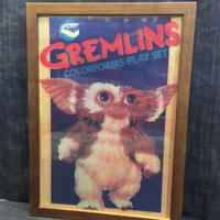木製フレームポスターⅬ  GREMLINS