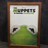 木製フレームポスターⅬ MUPPETS  カーミット