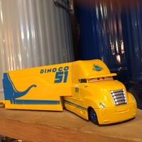 Disney Pixer Cars DINOCO51 トラック イエロー ディズニーピクサーマテルカーズ