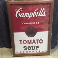 木製フレームポスターⅬ キャンベルスープ