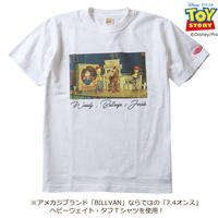 BILLVAN トイ・ストーリー コレクションTシャツ ウッディ・ブルズアイ・ジェシー ビルバン