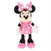 ディズニー ぬいぐるみ ミニーマウス (ピンク)