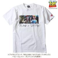 BILLVAN トイ・ストーリー コレクションTシャツ 036  ウッディ、ボーピープ ビルバン