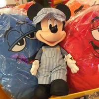 ディズニー レトロ ミッキーマウストーキングフィギュア USA スカーフなし