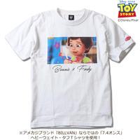 BILLVAN トイ・ストーリー コレクションTシャツ ボニー&フォーキー ビルバン