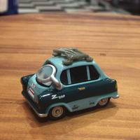 Disney Pixar Carsディズニーピクサーマテルカーズ ザンダップ教授 カーズ2MATTEL社