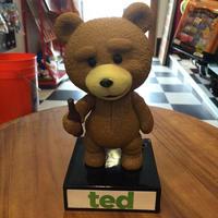 TED テッド ベア Wacky Wobbler トーキング ボブルヘッド 首ふり フィギュア ドール 人形