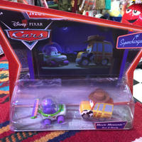 Disney Pixar Cars初期 BUZZ &WOODYトイストーリーMATTEL社