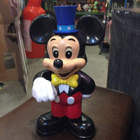 ディズニーレトロ アンティーク ミッキー 貯金箱