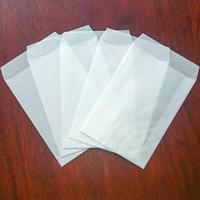 グラシン封筒【10枚入 中タテ型】114×162mm|白無地 洋形2号たて ポストカード ハガキサイズ 透ける平袋 バッグ