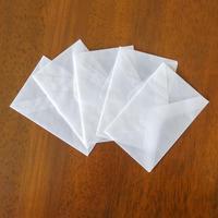 グラシン封筒10枚セット|小ヨコ型|白無地 ダイヤ貼り|名刺サイズ 透ける ピアス パッケージ