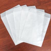 グラシン封筒10枚セット|大タテ型|白無地 A5大|透ける平袋 バッグ