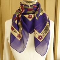 turc6   繊維の宝庫トルコのふわっと軽いコットンスカーフ(マルベリー)M