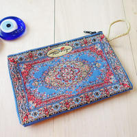★ nazapc32     トルコの絨毯柄やタイル柄を再現したトルコデザインポーチ