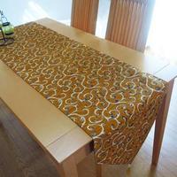 ★tta-78トルコデザインテーブルランナー(クラシカルキャメル)約180cm×43cm