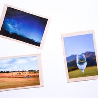 【竹田の風景のポストカード2枚セット】スタッフからのメッセージ付き