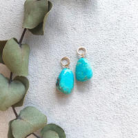 14KGF Kingman Turquoise M size Charms