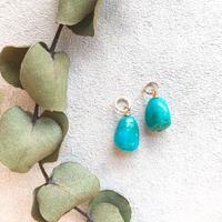 14KGF Kingman Turquoise S size Charms