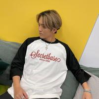 """SECRETBASE"" Three-quarter length T-shirt"