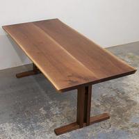 W94 ウォールナット材耳つきテーブル