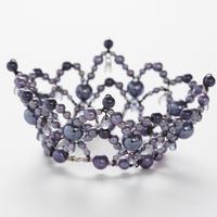 Purple Pearl Crown