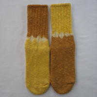 YOUstandard Hemp Cotton Socks(小) (ハルジオン×柘榴)