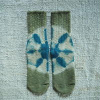 A HOPE HEMP Hemp Cotton Socks(小)【蓬×すくも藍】