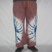 WIDE PANTS(小豆色×藍色)