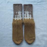 YOUstandard Hemp Cotton Socks(大) (山栗×胡桃)
