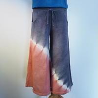 A HOPE HEMP 8SL WIDE PANTS(たで藍×ログウッド×枇杷