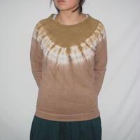 Raglan T-shirts Long Sleeve(黄土色×小豆色)
