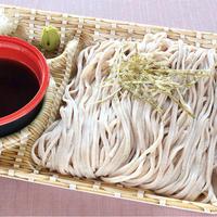 日本料理 浜風【日本そば】 出汁の効いた特製のめんつゆでお召し上がりください。
