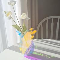 Acryl frill flower base