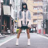 2tone color jacket [type : somunia]