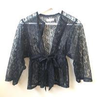 nono Lace gown black