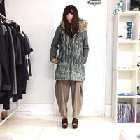 SHIKI / reversible quilt coat