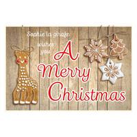 ソフィークッキー・クリスマスカード