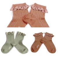 Collégien   /  Marie Antoinette 《 Ankle Socks 》