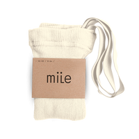 mile  /  braces tights 《 creamy 》