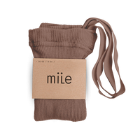 mile  /  braces tights 《 hazelnut 》