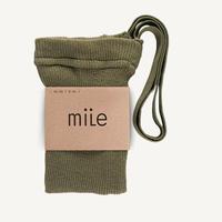 mile  /  braces tights 《 herbal green 》