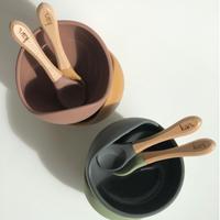 kiin / Silicone Bowl + Spoon 4color