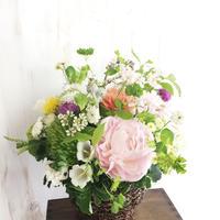 〈生花*予約〉母の日に♡芍薬ミックスアレンジメント  のコピー