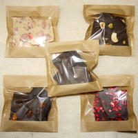 チョコレートBOX (Pieceチョコレート5個詰め合わせ)ギフト箱入り